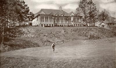 Suburban Golf Club from the rear.