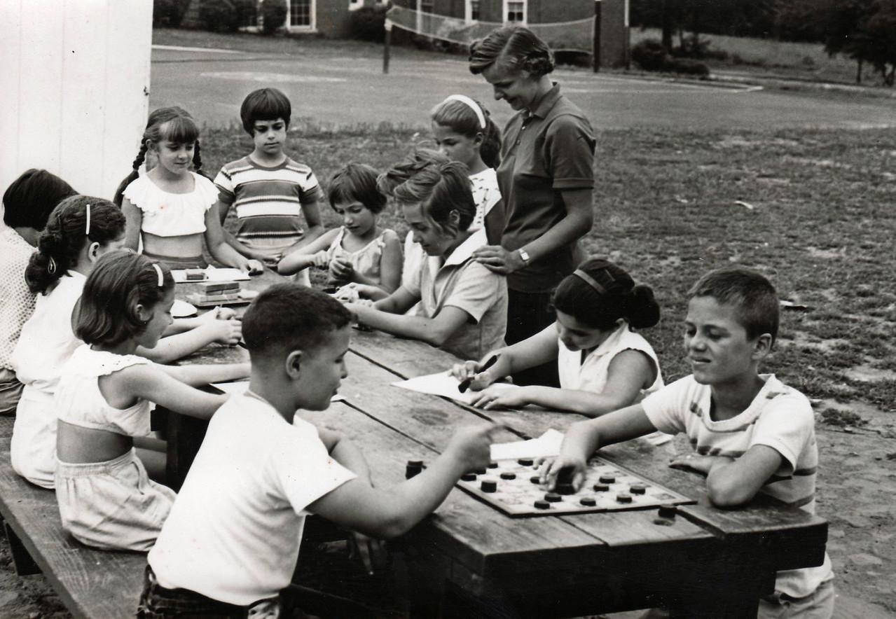 FRANKLIN SCHOOL PLAYGROUND 1965