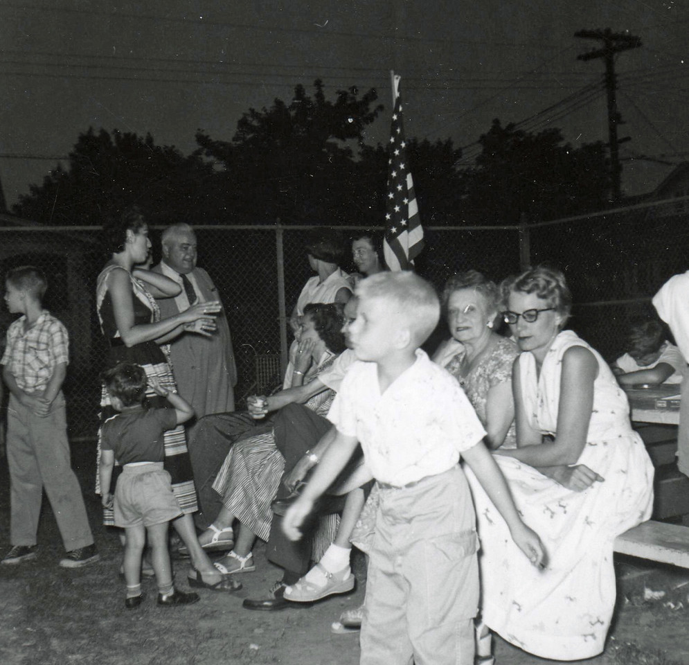 FAMILY NIGHT-HIGHSCHOOL PLAYGROUND NOW BURNET MIDDLE SCHOOL 1961 002