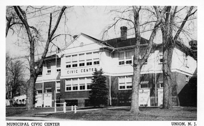 The Union Civic Center also known as the Rec Center was the former Connecticut Farms School.