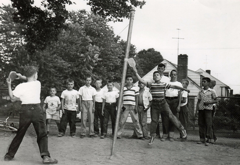 WASHINGTON SCHOOL PLAYGROUND 1960