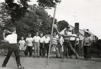 WASHINGTON SCHOOL PLAYGROUND 1960