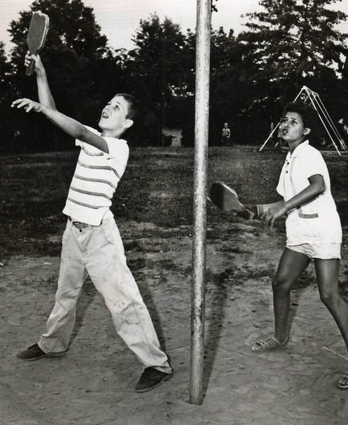 TETHER BALL COMPETITION- 1965