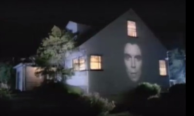 """This house on corner of Van Ness Terrace and Myrtle St. was used in the Talking Heads video """" Burning Down the House"""" in 1983. David Byrne said that he used it because it had a space in between the windows that could be used for projecting an image of his singing head. He probably noticed it while driving in traffic on Route 78. The projections of his face on the roadway toward the end of the video were also supposedly shot in Union. https://en.wikipedia.org/wiki/Burning_Down_the_House"""
