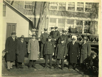 Firemen and Township Committee about 1925.