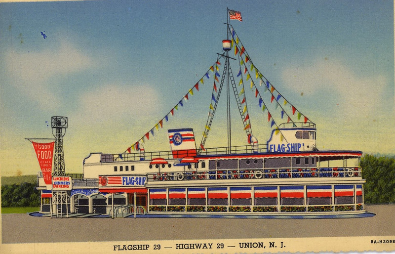 Some believe that this post card displays a rendering of a version of the Flagship 29 that never existed. If anyone has any info to the contrary, please let us know.
