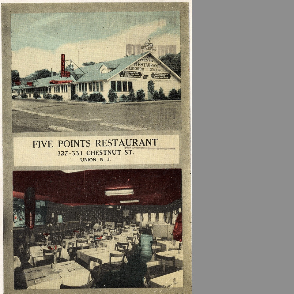 Five Points Restaurant which was located on Chestnut St. at Five Points where Rite Aid is currently located.