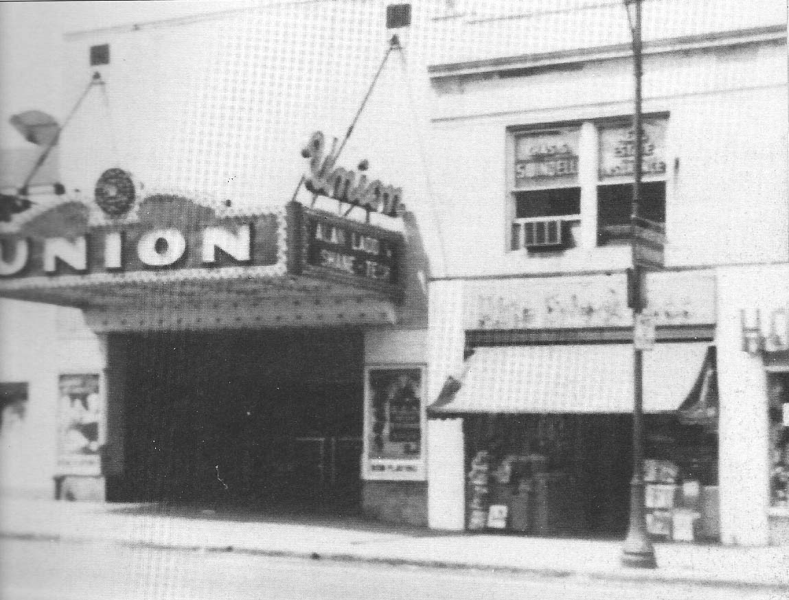 Union Theater in 1953. Shane was playing in a new breakthrough widescreen format.