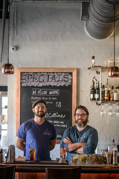 Union Public House co-owners Chef Blake Rushing and Patrick Bolster
