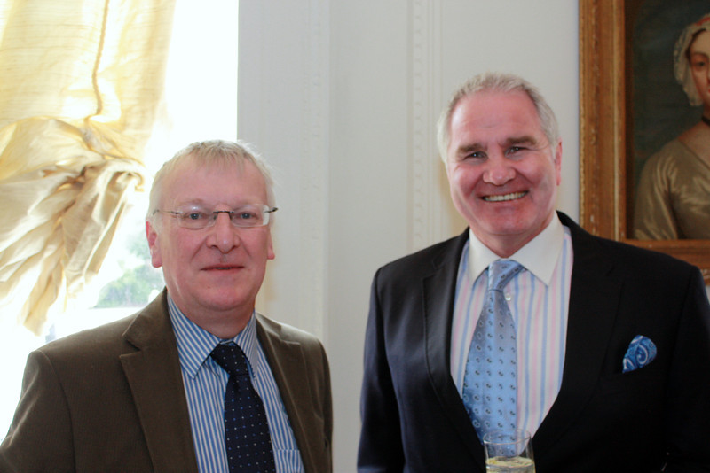 Brendan (Reg) Foley and Brent Pope