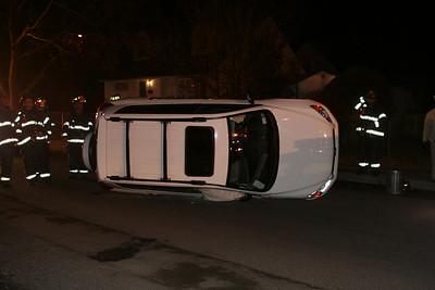 Davis Ave Overturn 3/11/09