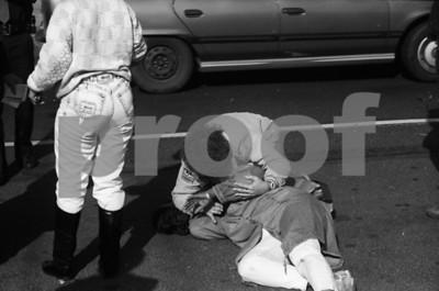 Uniondale Ped Struck  1991