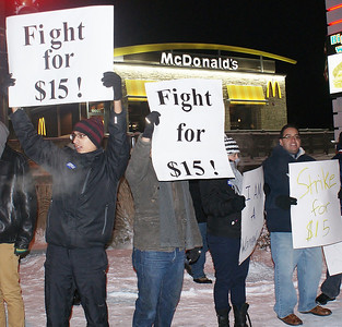 Fast food workers protest Denver 12/13 (11)