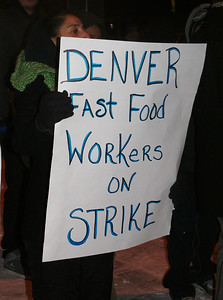 Fast food workers protest Denver 12/13 (8)