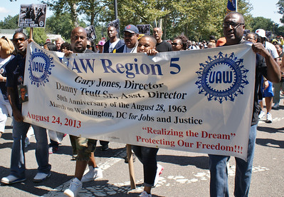 March On Washington 50th Anniversary - Unions (16)
