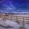 Lightning Over Roxbury, Rockaway Beach, New York