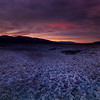 Sunset At Borax Mining Area, Death Valley California