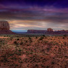Two Mittens In The Sunrise, Monument Valley, Arizona