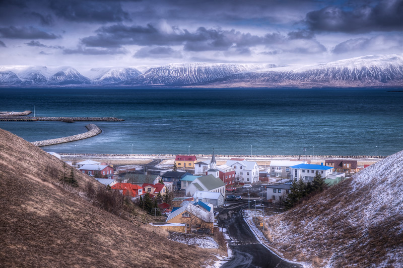 Saudarkrokurn, North Iceland