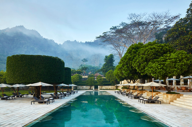 Amanjiwo, Indonesia - Main Swimming Pool