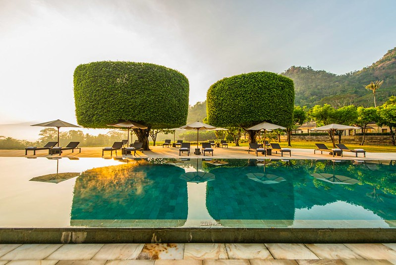 Amanjiwo Resort, Magelang, Java, Indonesia