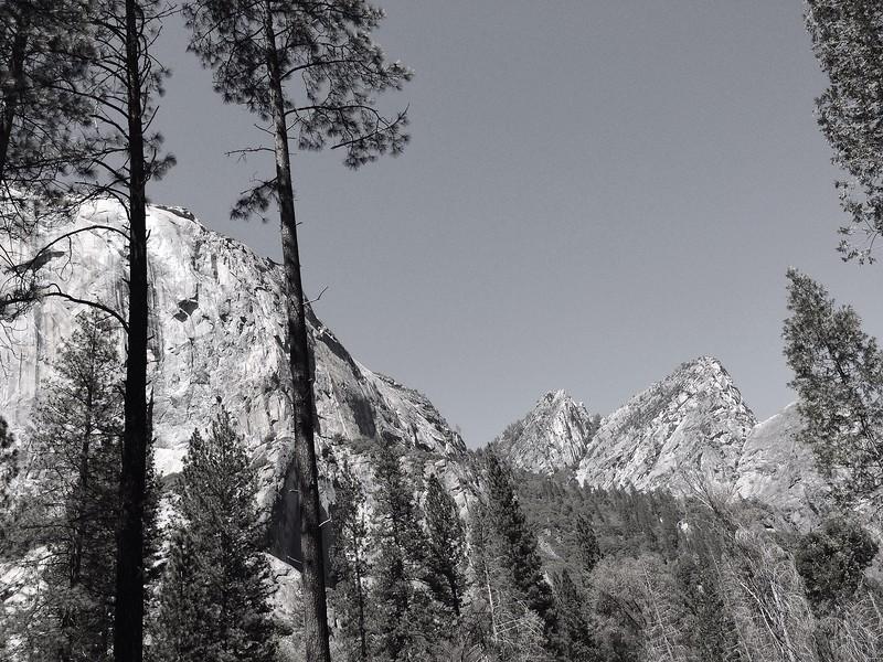 Yosemite in Black and White