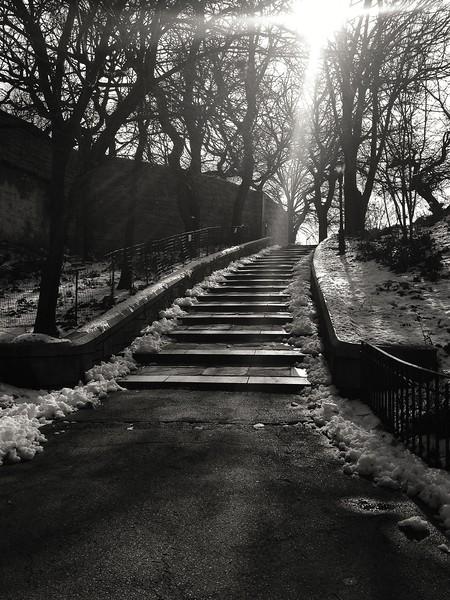 Riverside Park Staircase