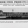 Superior Steel Products Corp. building in 1936 - Milwaukee, Wisconsin
