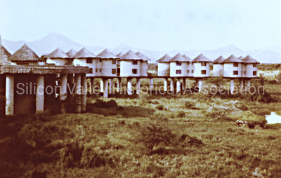 Sarova Salt Lick Game Lodge in Kenya, 1979