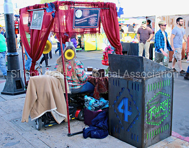 Fortune Teller on Fourth Avenue in Tucson, Arizona