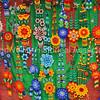American Indian beaded flower jewelry