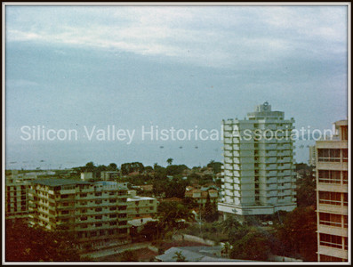 View of Panama City in 1974