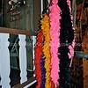 Colorful feather boas in Tombstone, Arizona