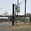 Kingman Lanes bowling signage in Kingman, Kansas