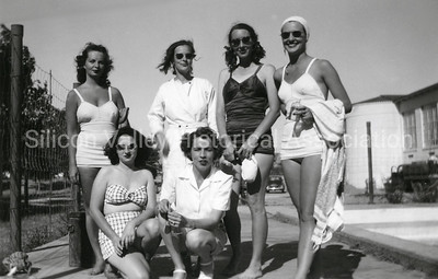 New Mexico State University Group Shot in 1947 - Las Cruces, New Mexico