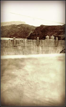 Boulder Dam in Nevada - 1940