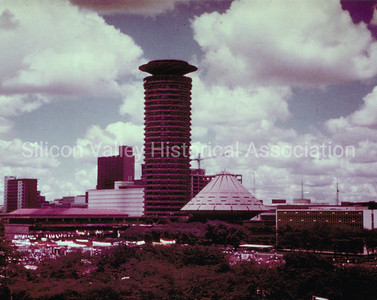 Nairobi, Kenya  - downtown area in 1979