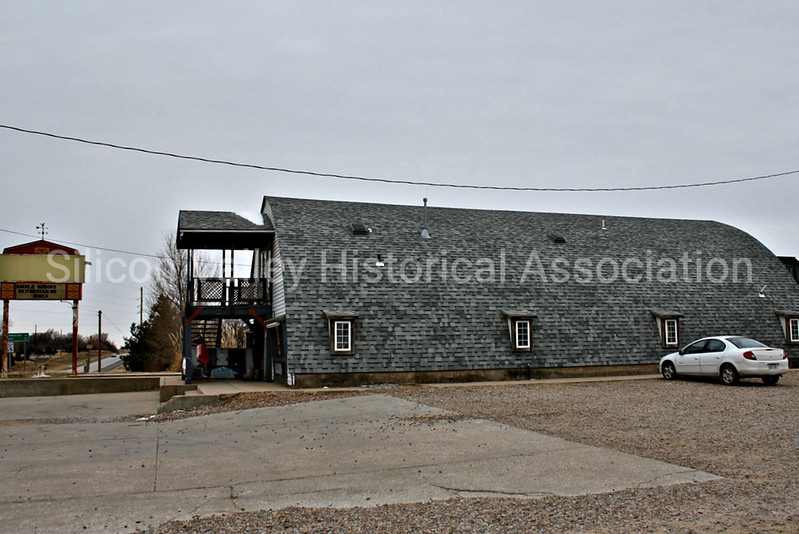 Old Nears building in Kingman, Kansas