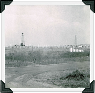Oklahoma oil fields in 1952