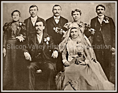 Fuerstenberg wedding party photo from 1900 - Germany