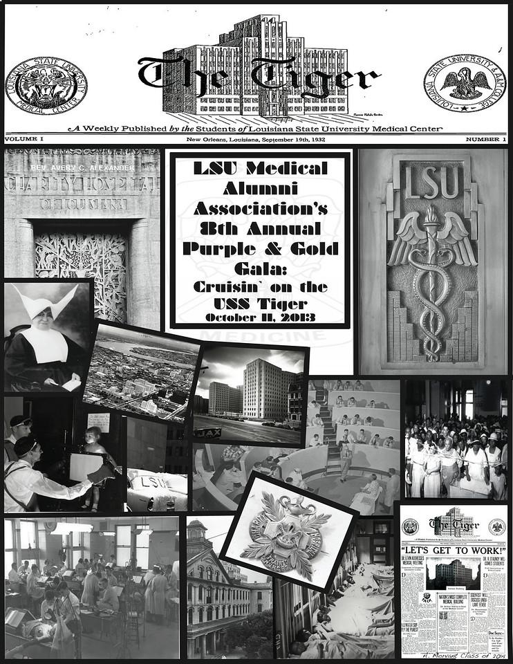 2013 LSU Gala Poster