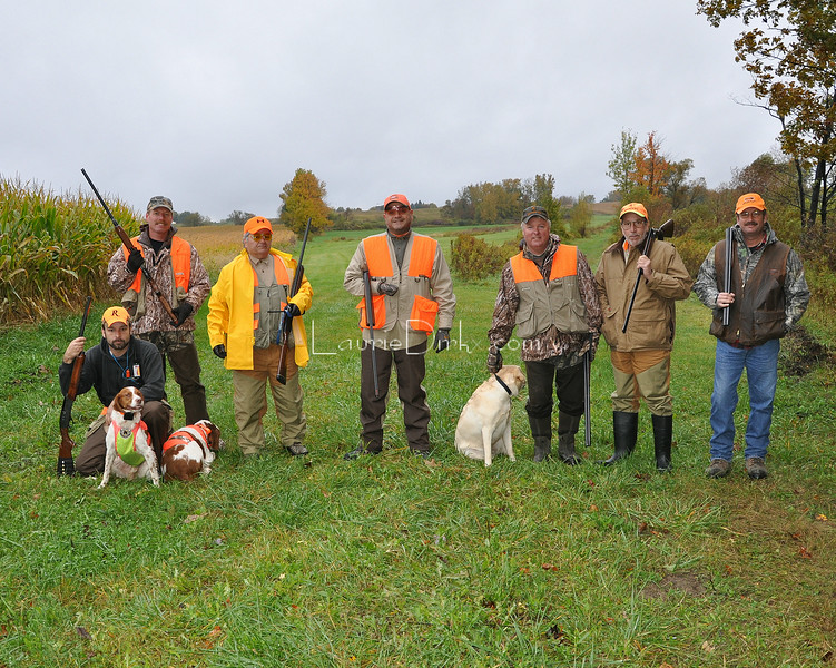 Pre-hunt client photo.
