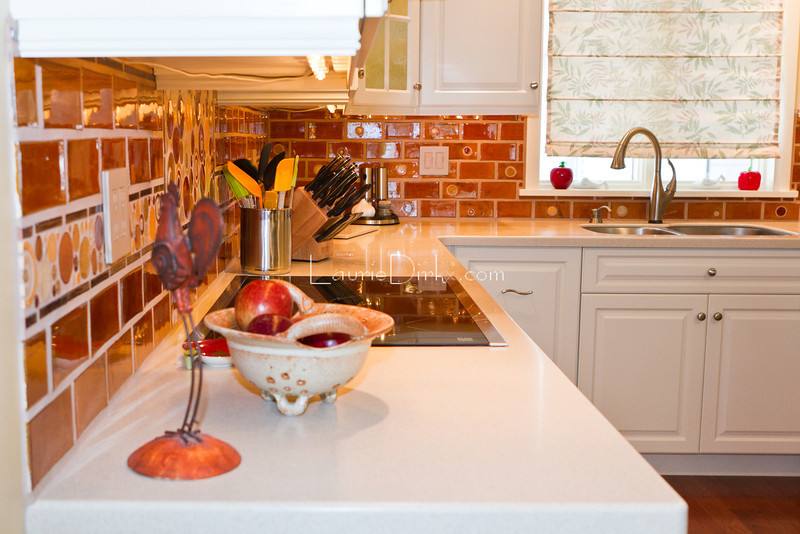 A kitchen renovation - to show depth of field.