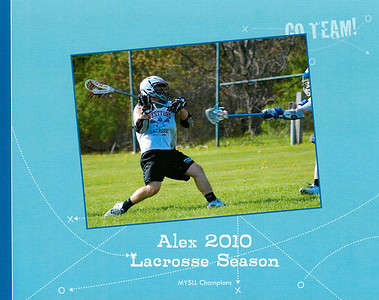 Lacrosse Memory Book Sample