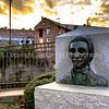 Bust of Daniel Pratt