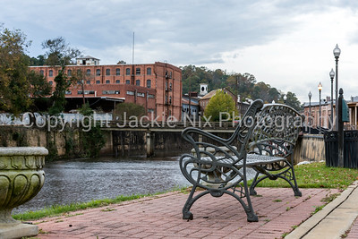 Bench at Creekwalk in Prattville
