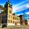 Autauga County Courthouse clock tower