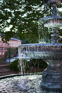 Fountain at Heritage Park