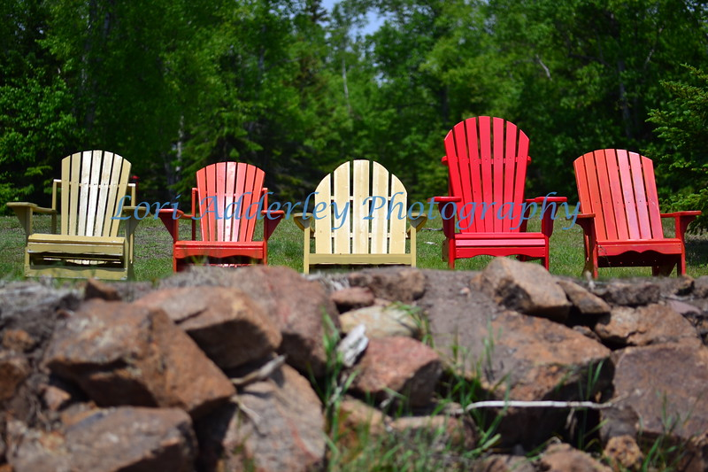 Adirondack on the Rocks: Best seat in the house