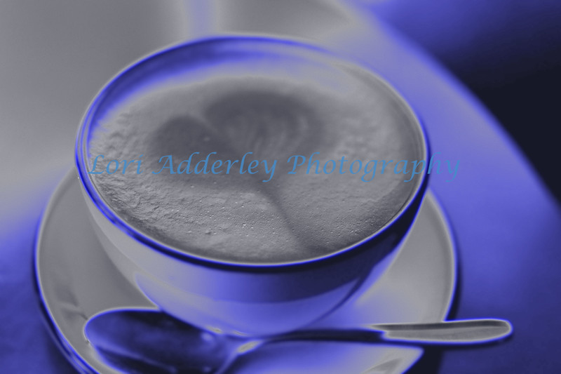Blue Love and Coffee